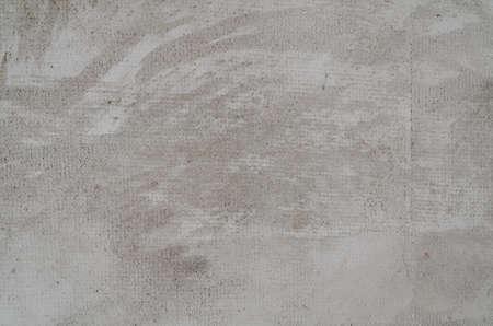 Clean Concrete wall with mesh fiberglass reinforcement texture background
