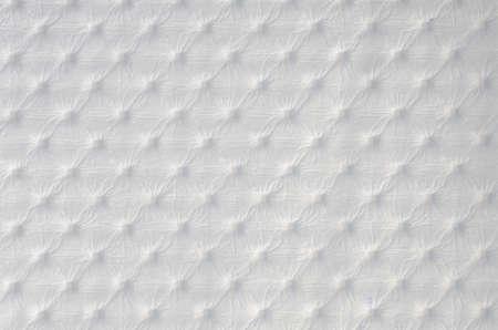 white leather texture: Closeup of  white leather texture Stock Photo