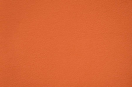 texture leather: Closeup of  orange  leather texture