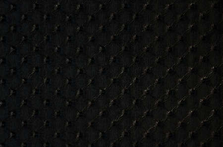 black leather texture: Closeup of  black leather texture