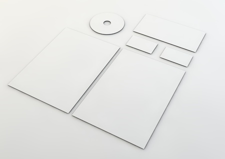 personalausweis: Corporate identity template