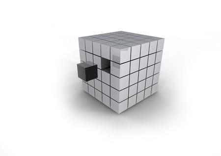 integrate: matrix of cubes