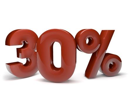 liquidation: 3d render of the thirteen percent