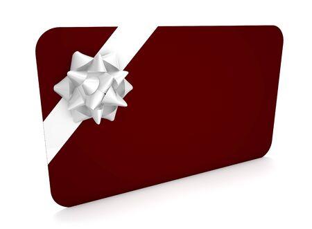 blanck: Render of a gift card