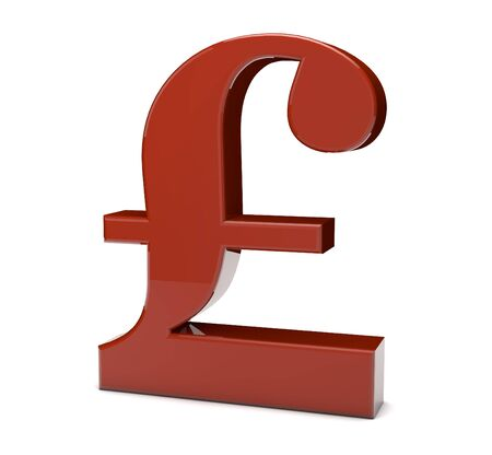 3d Render Of The Pound Symbol Stock Photo Picture And Royalty Free