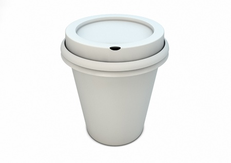 render of a coffee cup photo