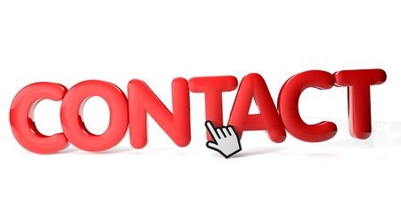 render of a contact icon Stock Photo - 16466029