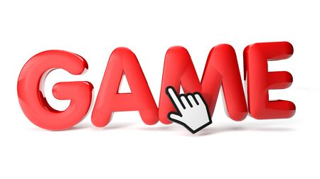 render of a game icon Stock Photo - 16466003