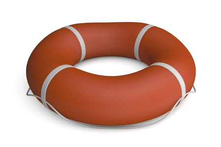 floater: render of an isolated floater Stock Photo