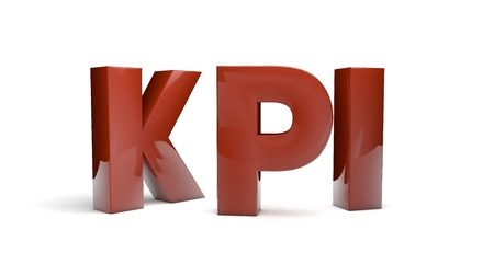 render of the text kpi