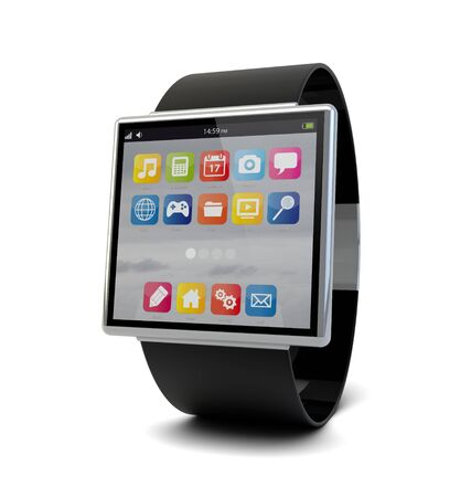 render of a conceptual smart watch
