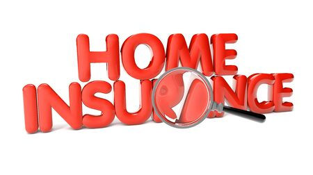 duration: home insurance text isolated on white background
