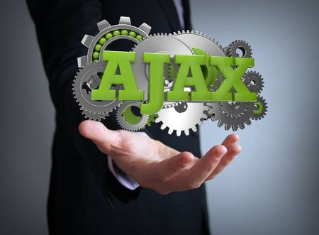 ajax: ajax businessman