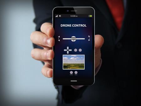 무인 항공기 제어 앱