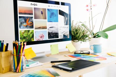 portfolio website Graphic design studio