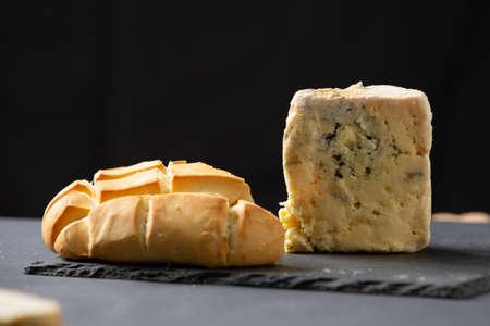 Picon cheese or Tresviso cheese. Typical Cantabrian cheese made in the Picos de Europa.