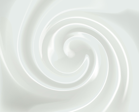 Vector Swirl Cream Texture Background Illustration