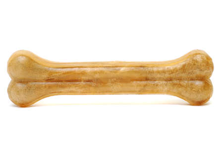 Artificial a bone for a dog with vitamins photo