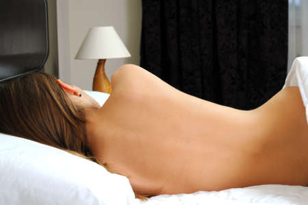naked people: naked girl on the bed