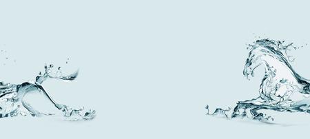 물 말 galloping 물 만든 프레임. 스톡 콘텐츠 - 82917565