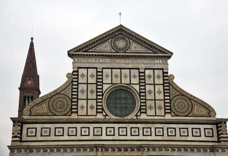 in particular: especially the church of Santa Maria Novella in Florence