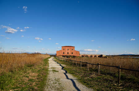 guided: view of the nature reserve in Tuscany, Italy