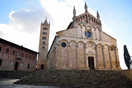 massa: Cathedral of Massa Marittima, Tuscany, Italy