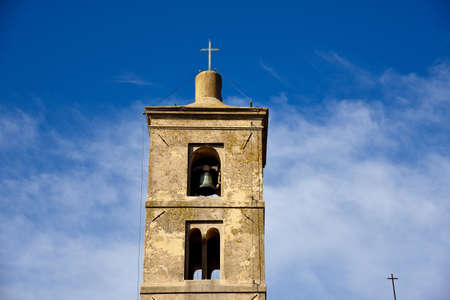 church steeple: old church steeple Stock Photo
