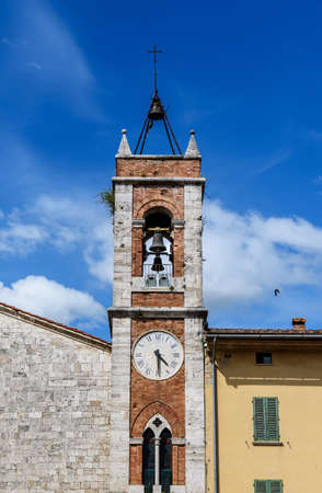 bell tower: bell tower with clock