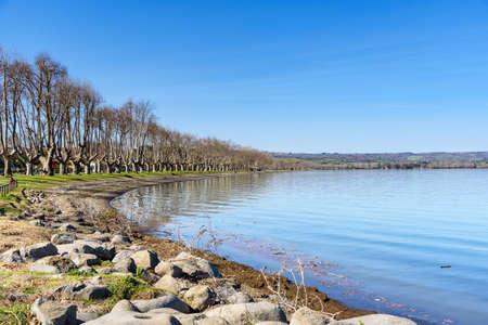 Bolsena lake, italy