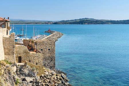 italian destination: Talamone, Grosseto province, tuscany, italy