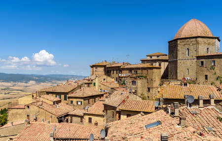 Ancient town of Volterra, tuscany, italy