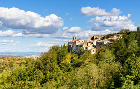 Scansano, a village in the Tuscan province of Grosseto, Italy