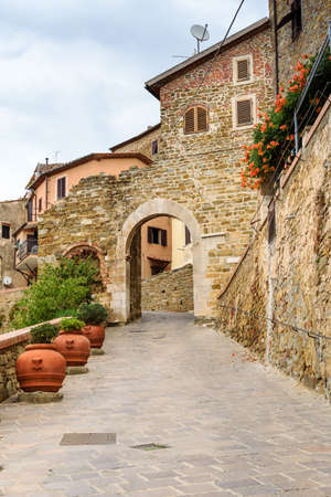 Village of Scarlino, tuscany, italy