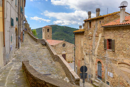 historic village of Buriano, Grosseto province, tuscany, Italy