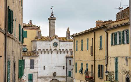 village of Scansano, Grosseto province, Tuscany, Italy