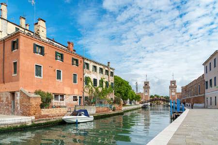 Venice, Italy, Castello district