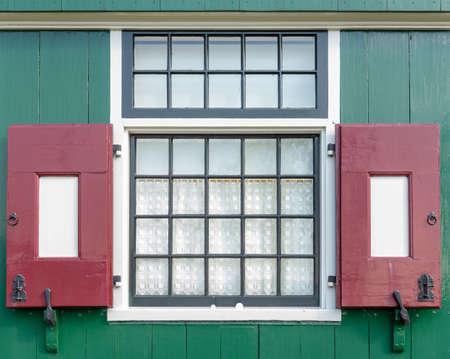 old dutch window Stock Photo