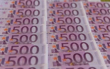 euro geld bank biljetten, geld Euro achtergrond