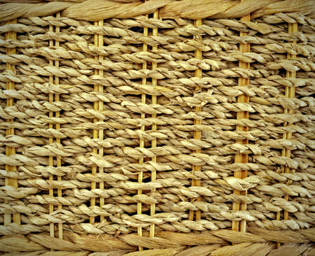 Background image and texture of woven ropes photo