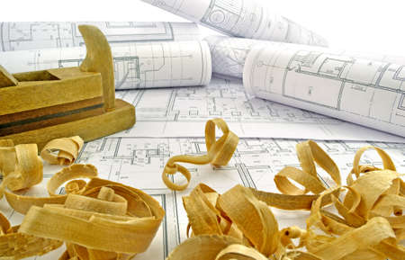drawings image: Image design drawings and tools for construction
