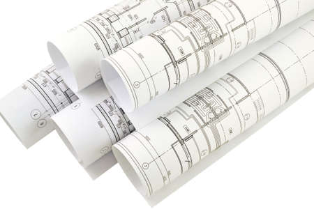 drawings image: Image of isolation drawings for the project engineer jobs