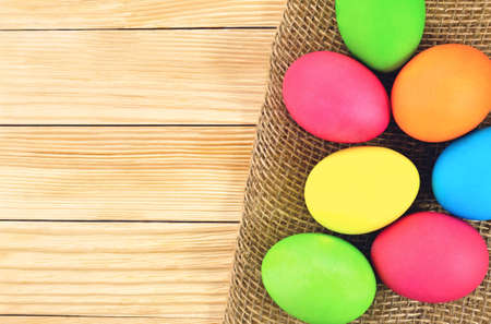 godly: Photo painted in different colors Easter eggs