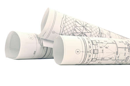 Isolation of several drawings for the project engineer jobs