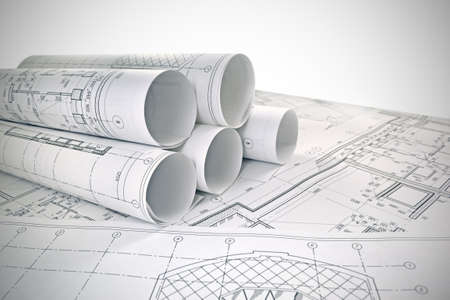 Photo drawings for the project engineering work