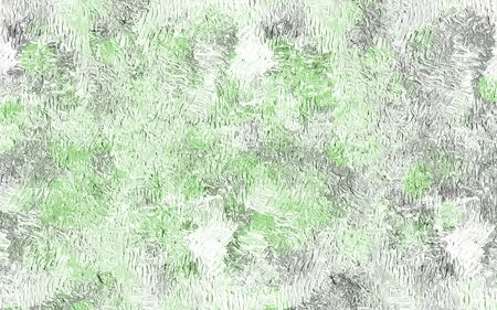 Abstract background image of light green color with texture strokes of dark color.