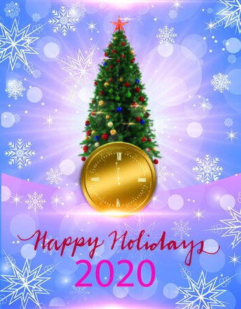 Abstract background for happy new year. 3D rendering Foto de archivo - 134655270