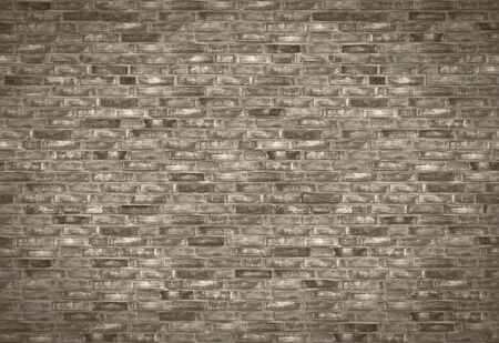 A fragment of an ancient stone wall . Background image. Banco de Imagens