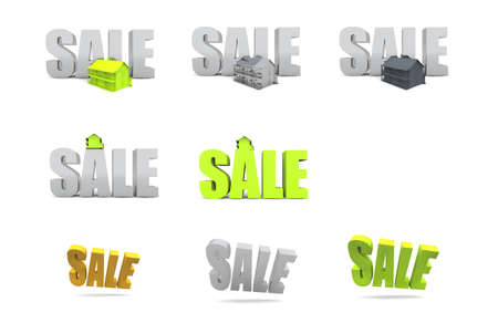 Sale signs and symbols Stock Photo - 12992394