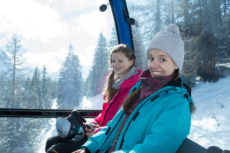 actively: Actively experience the mountains in Austria Tirol Stock Photo